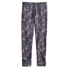 Girls 4-12 Jumping Beans® Floral Leggings