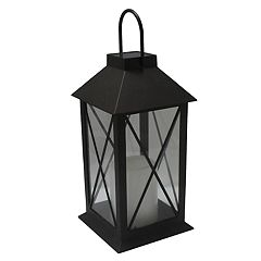 SONOMA Goods for Life™ Small Solar Light-Up Classic Lantern Outdoor Table Decor