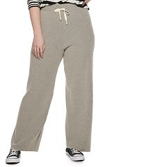 Plus Size POPSUGAR Travel Wide-Leg Lounge Pants