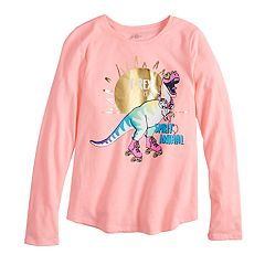 Girls 7-16 SO® Long Sleeve Graphic Tee