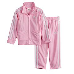 Toddler Girl adidas Tricot Zip Track Jacket & Pants Set