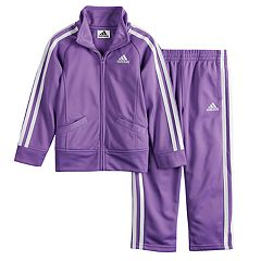 Toddler Girl adidas Tricot Zip Track Jacket & Pants Set