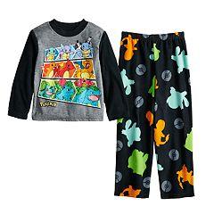 Boys 6-12 Pokemon Fleece 2-Piece Pajama
