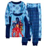 Boys 4-10 Avengers 4-Piece Pajama Set