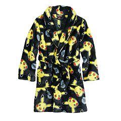 Boys 6-12 Star Pokemon Pikachu Robe