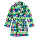 Boys 6-12 Minecraft Creeper Plush Robe
