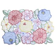 Celebrate Spring Together Floral Cut-Out Placemat