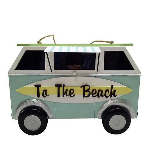 "Celebrate Spring Together ""Beach"" Trailer Hanging Birdhouse"