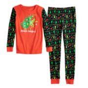Boys 4-20 Grinch Always Naughty 2-Piece Pajamas