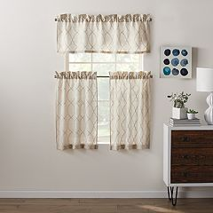 SONOMA Goods for Life™ Embroidered Dynasty Tier & Valance Set