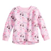 Disney's Minnie Mouse & Friends Toddler Girl Hi Low Sweatshirt by Jumping Beans®