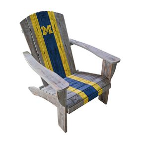 Michigan Wolverines Adirondack Chair