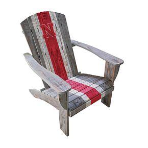 Nebraska Cornhuskers Adirondack Chair