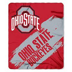 Ohio State Buckeyes Clear Stadium Tote & Throw Blanket Set
