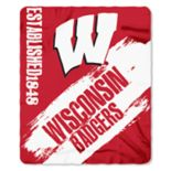 Wisconsin Badgers Clear Stadium Tote & Throw Blanket Set