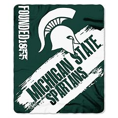 Michigan State Spartans Clear Stadium Tote & Throw Blanket Set