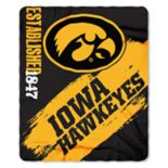 Iowa Hawkeyes Clear Stadium Tote & Throw Blanket Set