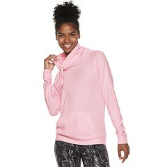 Women's Tek Gear® Pocket Front Cowlneck Top