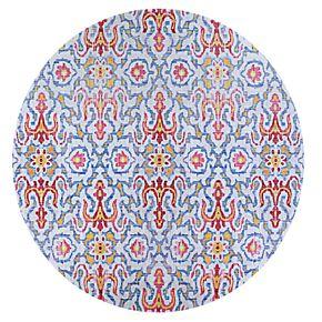 Couristan Xanadu Puebla Violeta Indoor / Outdoor Colorful Geometric Rug