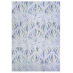 Couristan Xanadu Acapulco Indoor / Outdoor Geometric Fern Rug