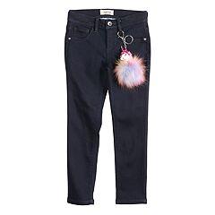 Girls 4-6x Squeeze Dark-Wash Skinny Jeans