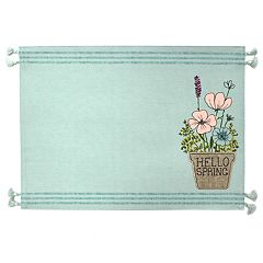Celebrate Spring Together Hello Spring Placemat