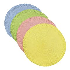 Celebrate Spring Together Round Placemat 4-pack