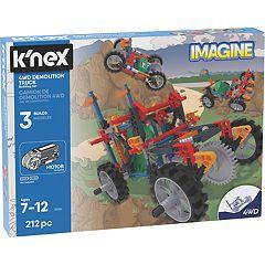 K'NEX Imagine 4WD Demolition Truck Building Set