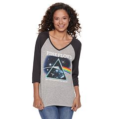 Juniors' Pink Floyd 'The Dark Side of the Moon' Raglan Tee
