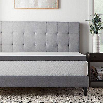 Lucid Dream Collection 3-in. Bamboo Charcoal Mattress Topper