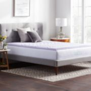 Lucid Dream Collection 2-in. Zoned Lavender Memory Foam Mattress Topper