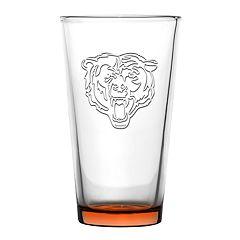 Boelter Chicago Bears Embossed Pint Glass