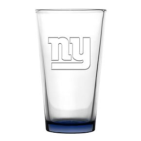 Boelter New York Giants Embossed Pint Glass