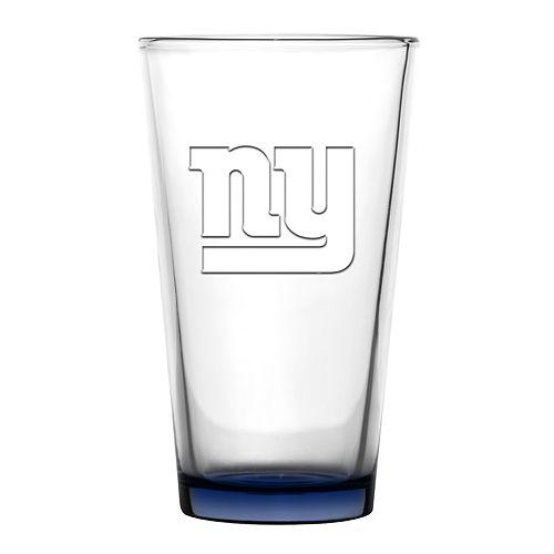 Boelter New York Giants Embossed Pint Glass
