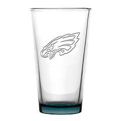 Boelter Philadelphia Eagles Embossed Pint Glass