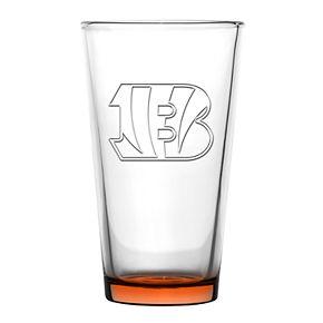 Boelter Cincinnati Bengals Embossed Pint Glass