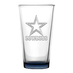 Boelter Dallas Cowboys Embossed Pint Glass