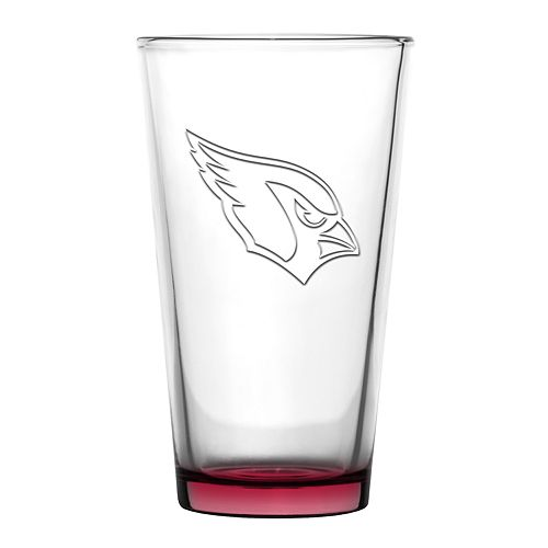 Boelter Arizona Cardinals Embossed Pint Glass