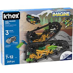 K'NEX Imagine 4WD Crusher Tank Building Set
