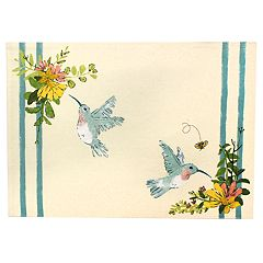Celebrate Spring Together Hummingbird Placemat