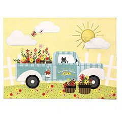 Celebrate Spring Together Truck Placemat