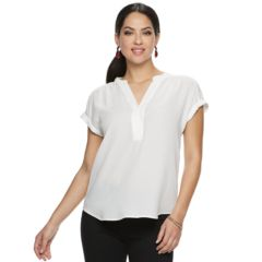 Womens White Button Down Shirts Shirts Blouses Tops Clothing