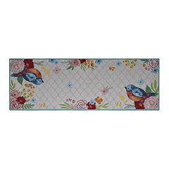 Celebrate Spring Together Bird Tapestry Table Runner - 36'
