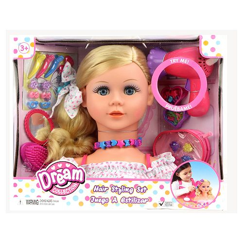 Gigo Dream Collection Styling Head Play Set