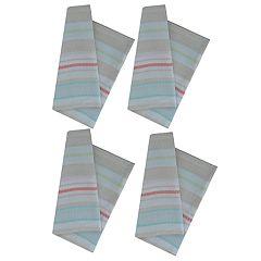Celebrate Spring Together Farmhouse Pique Stitch Stripe Napkin 4-pack
