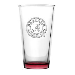 Boelter Alabama Crimson Tide Embossed Pint Glass