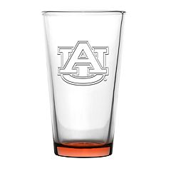 Boelter Auburn Tigers Embossed Pint Glass