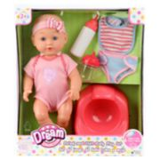 Gigo Drink & Wet Baby Doll Training Potty Set