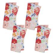 Celebrate Spring Together Bright Floral Napkin 4-pack