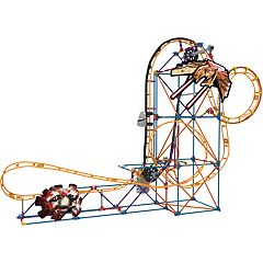 K'NEX Thrill Rides Space Invasion Roller Coaster Building Set